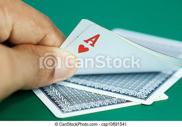 Gambling scenes - csp10891541