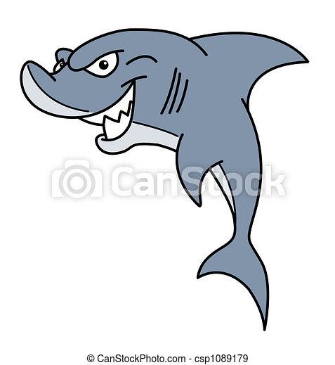 Hungry Shark - csp1089179