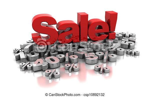 Sale - csp10892132