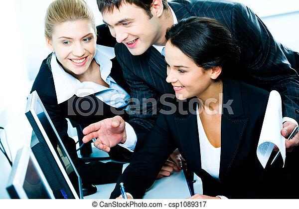 Business cooperation  - csp1089317