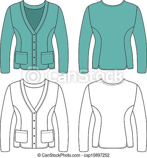 Blank Woman Jacket
