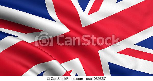 Great Britain Flag - csp1089867