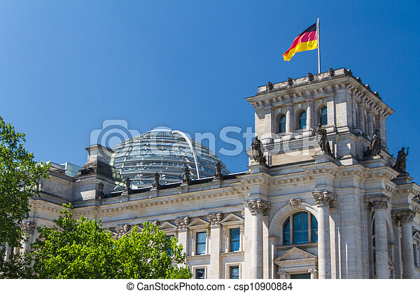 Berlin Government District - csp10900884