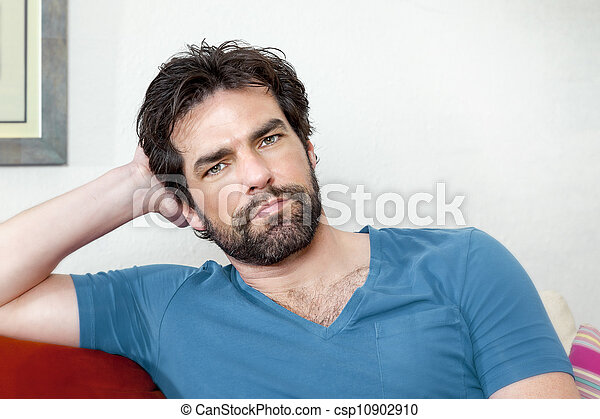 man with beard - csp10902910