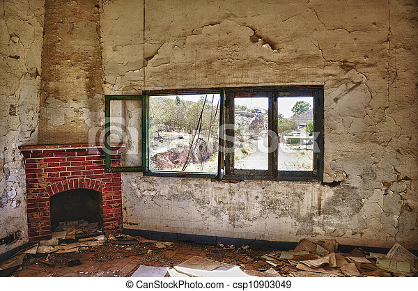 Old fireplace - csp10903049