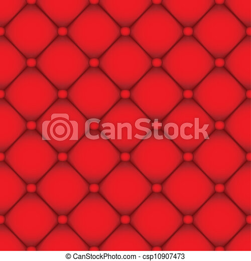 Red leather background - csp10907473