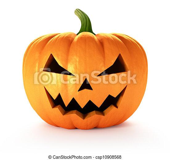 Archivio illustrazioni di halloween zucca pauroso - Disegni di zucche ...