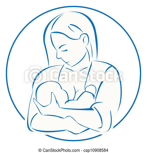 mother baby - csp10908584