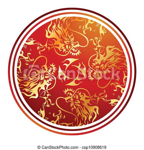 golden dragon - csp10908619