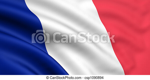 Flag Of France - csp1090894