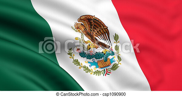 Flag Of Mexico - csp1090900