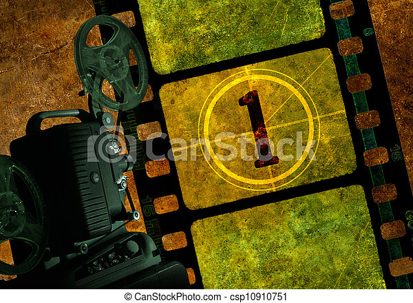 Movie Projector - csp10910751