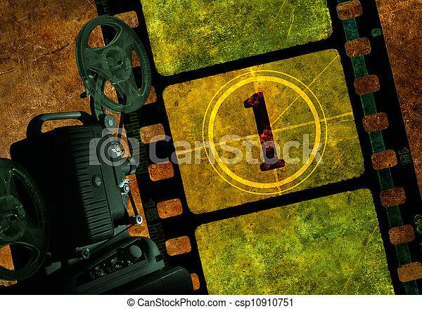 Movie Projector - csp10910751