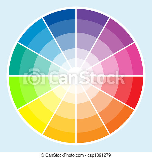Color Wheel - Light - csp1091279