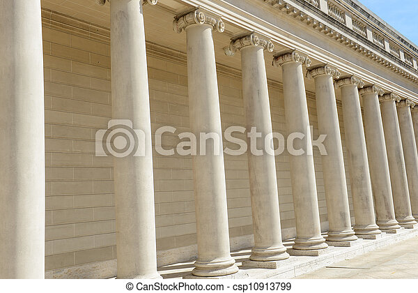 Pillars of Law and Justice - csp10913799