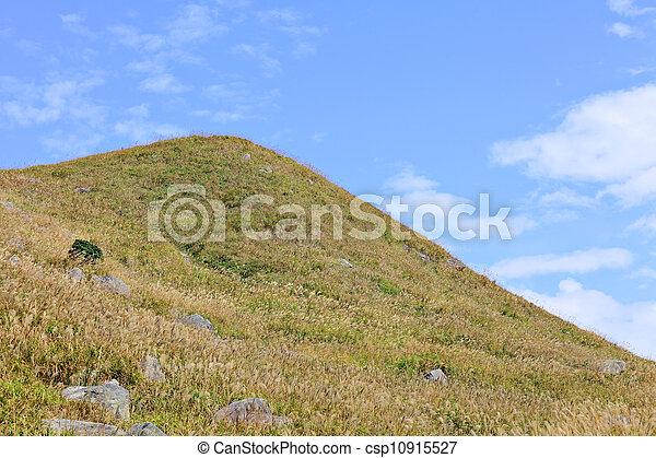 landscape of mountain - csp10915527