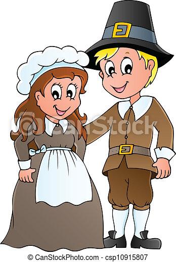 Clip Art Pilgrims Clipart pilgrims clip art and stock illustrations 3097 eps thanksgiving pilgrim theme 1 vector illustration