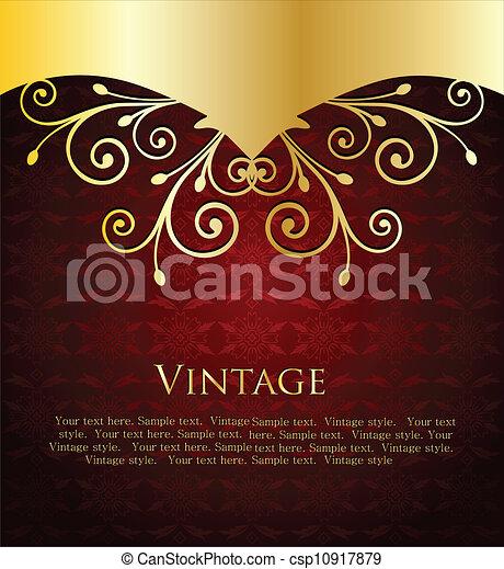 Vectors Illustration of Elegant red wine label template Elegant – Wine Bottle Labels Template