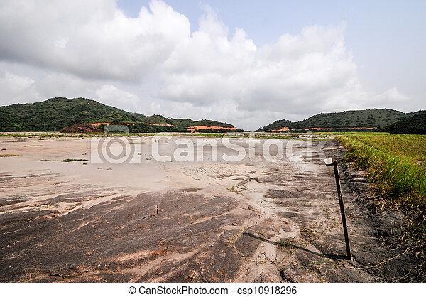 Ghana Tailings Pond - csp10918296