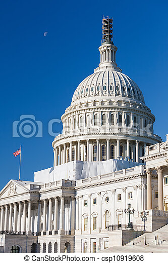 Dome of the US Capitol - csp10919608