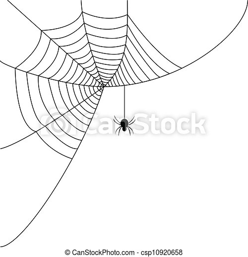 Web Spider Vector Spider Web Clipart Vector