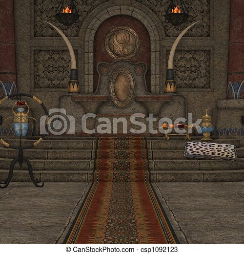 Drawing Room Clipart Fantasy Throne Room Drawings