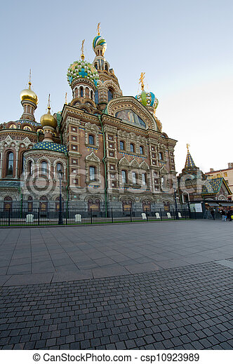 Church of the Savior on Blood. St. Petersburg. Russia - csp10923989