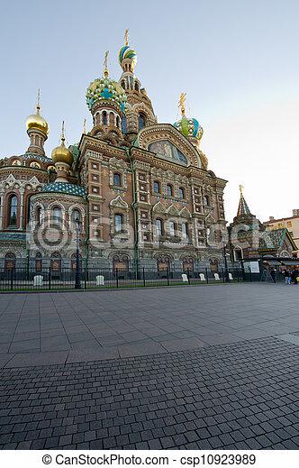 Church of the Savior on Blood. St. Petersburg. Russia - csp10923989