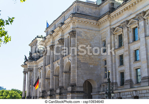 Berlin Government District - csp10934640