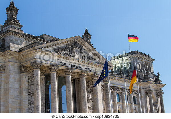 Berlin Government District - csp10934705