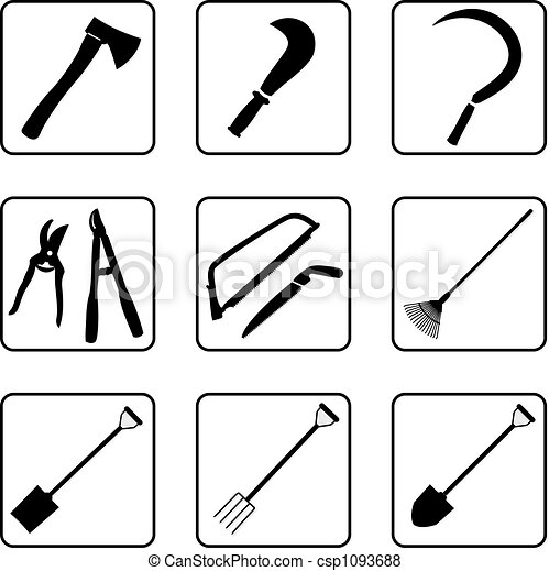 Gardening tools 2 - csp1093688