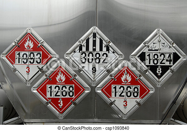 Transportation Placards - csp1093840