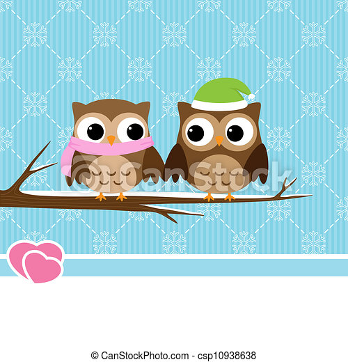 vectors of winter owl couple winter background with Whimsical Owl Clip Art Free Free Printable Owl Clip Art
