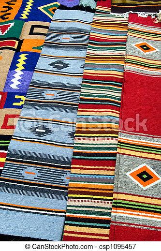 Traditional Ukrainian rug - csp1095457