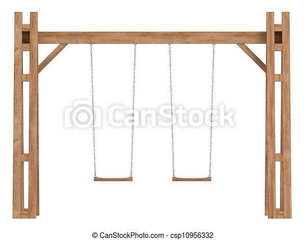 Dibujos de de madera columpios la a cuadro de madera - Columpios para ninos de madera ...