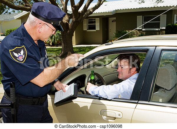 Police - Drunk Driving - csp1096098