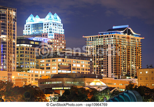 Orlando downtown architecture - csp10964769