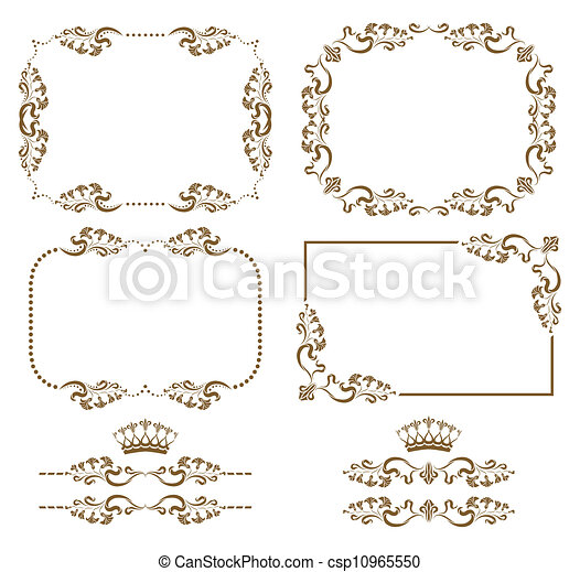decorative frame - csp10965550