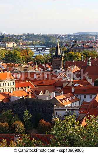 Prague bridges - csp10969866