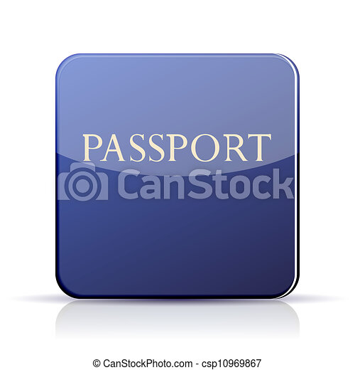 Apps Icons Vector Vector Passport App Icon on
