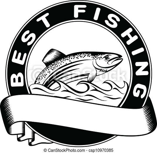 vector of best fishing vector illustration fish trout catfish clip art free catfish clip art free