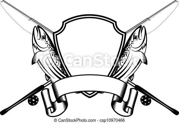 Trout fishing Stock Illustrations. 2,368 Trout fishing clip art ...