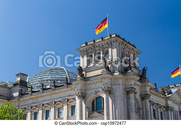 Berlin Government District - csp10972477