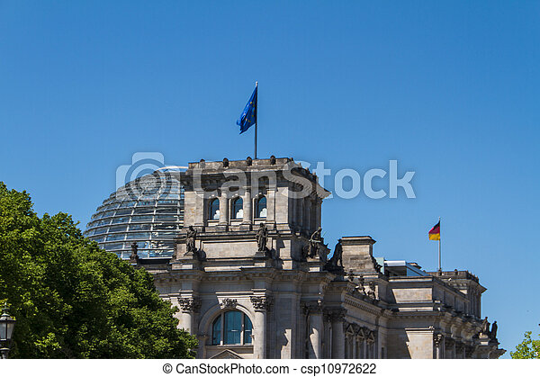 Berlin Government District - csp10972622