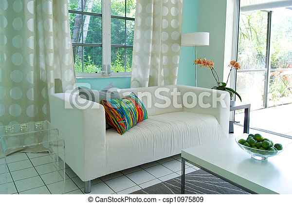 modern livingroom - csp10975809