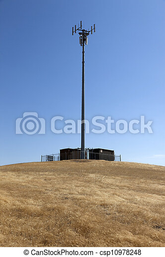 Rural Cell Phone Tower - csp10978248