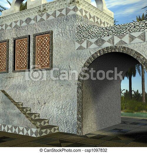 Fantasy Building - csp1097832