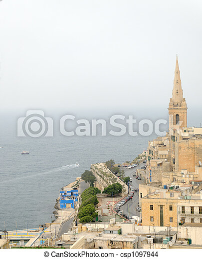 East of Valletta - csp1097944