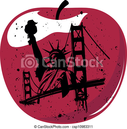 Big Apple Free Clip Art