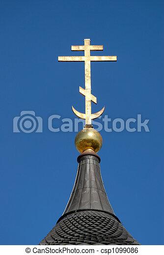 Orthodox Cross - csp1099086